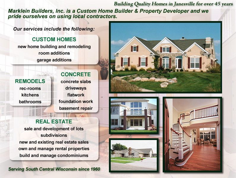 Marklein Builders Home Page